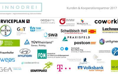 Menschen, Organisationen, Innovationen – das war 2017!
