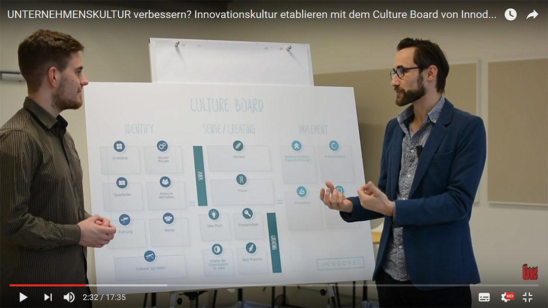 Innodrei stellt das Culture Board vor